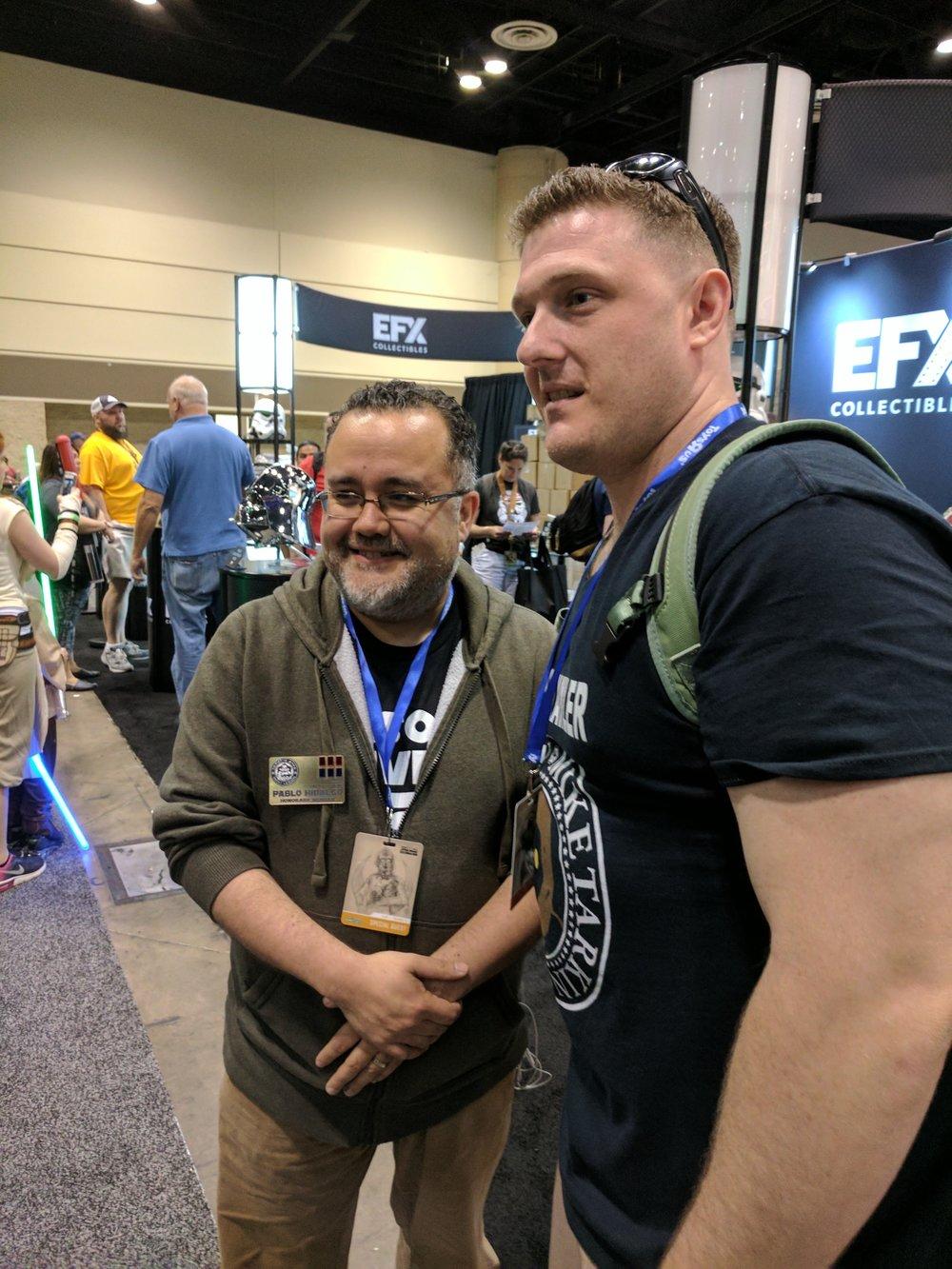 Dan meets Lucasfilm's Pablo Hildago
