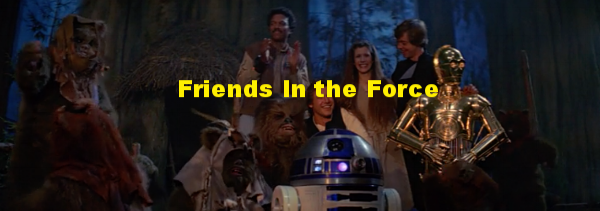 We are proud to call these podcasts and websites Friends In the Force!