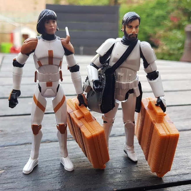 Action Figure Tourists