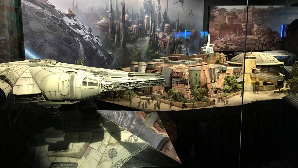 GALAXY'S EDGE CONCEPT MODELS