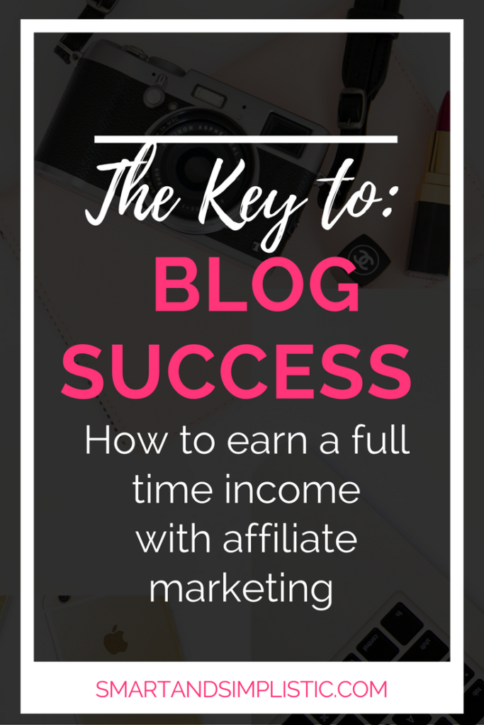 The keys to making money as a blogger. Affiliate marketing. Affiliate marketing can cause you to earn so much more money, so much quicker.