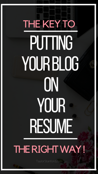 Putting blogging on your resume might actually land you a great job. Recently I had to update my resume for a networking event and it brought a lot of great attention to me and my blog so I thought I would explain all of the things I learned with you guys so you can land a cool job.
