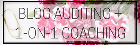 Blog Auditing