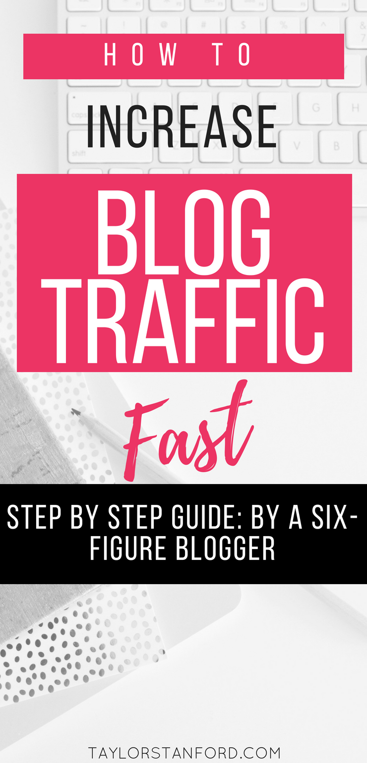 How to Increase Blog Traffic Quickly, Increasing Your Blog Traffic isn't as hard as you may think. This post will explain how to structure your content, ads, and more #increasetraffic #blogtraffic #bloggingtips #blogtips #blogging #blogingadvice