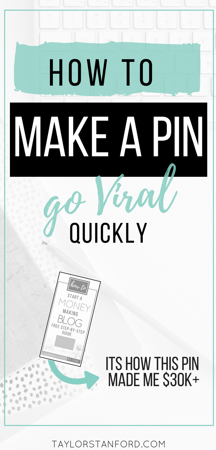 How to Make a Pin go Viral