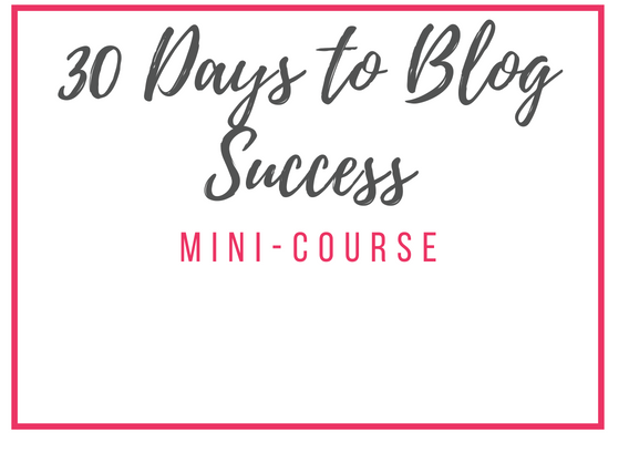 30 Days to Blog Success - A mini course that will walk you step by step through how I created a profitable blog in less than 30 Days. It also includes updated tips so you don't waste time.Sells Seperatly for: $50