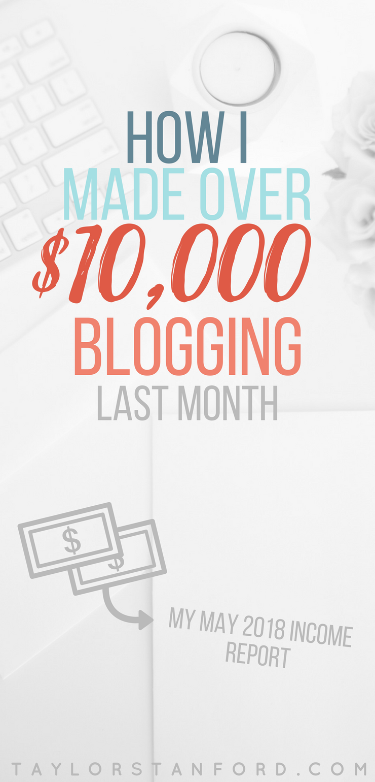 How I Made Money My First Month Blogging