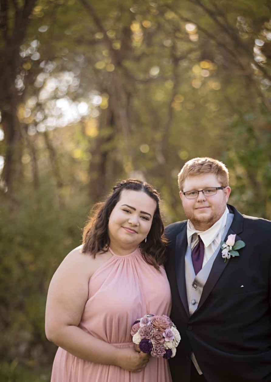 I am your average girl, who spends as much time at Target as possible, loves getting her nails done, and would spend 364 days out of the year sitting by a pool in the Caribbean if possible. Oh, also this blog is my full-time job.  (this is my husband and me at his sisters wedding)