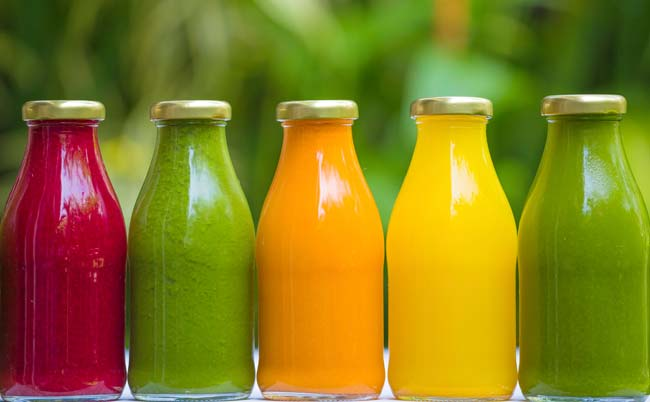 Cleanses come in many different forms.  Juicing is one popular option.