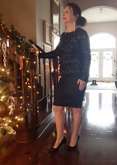 Nothing says holiday to me more than a whole lot of sparkle. It may just be  the time of year. The days are short and the nights are long. a3071db63