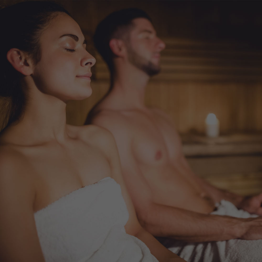 Recharge - Take some time to focus on you. Step into one of our private infrared saunas and immediately tune out the rest of the world.
