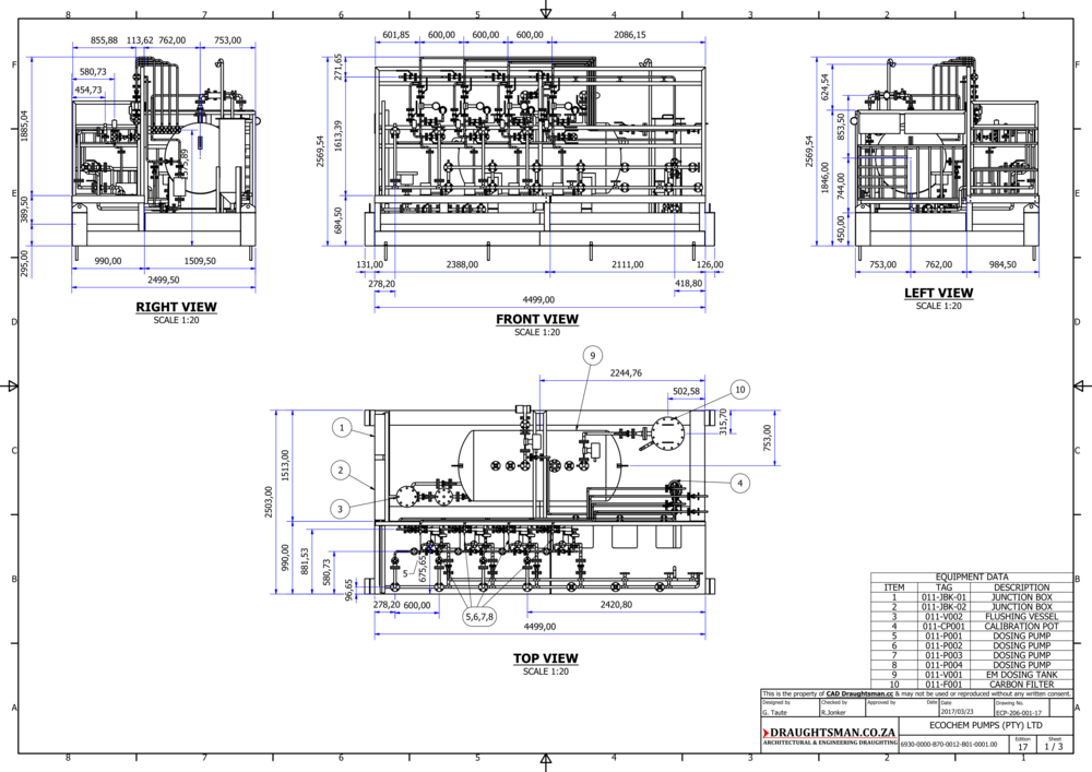 the cad draughtsman  pty  ltd