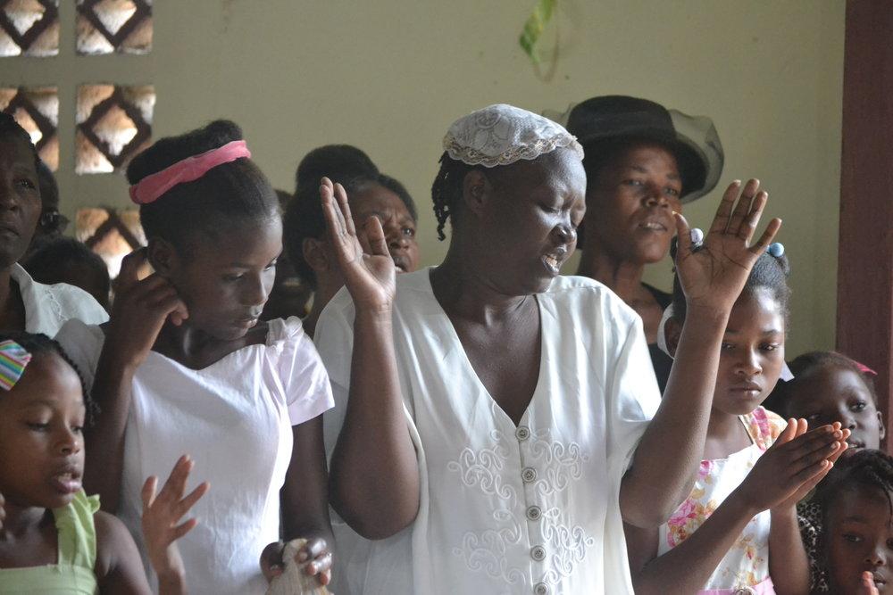 Petit-Trou Baptist Church in Haiti