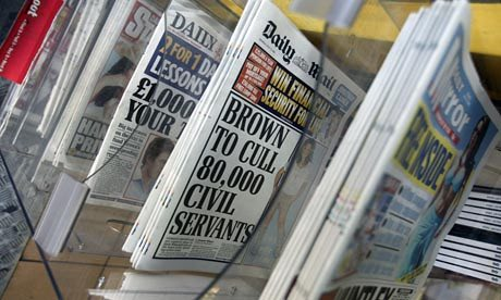Advertising in local papers or websites can be a great way to help spread the word. Photograph: Dan Chung/The Guardian