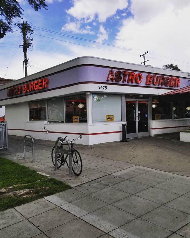 Favourite burger, favourite album. #astro