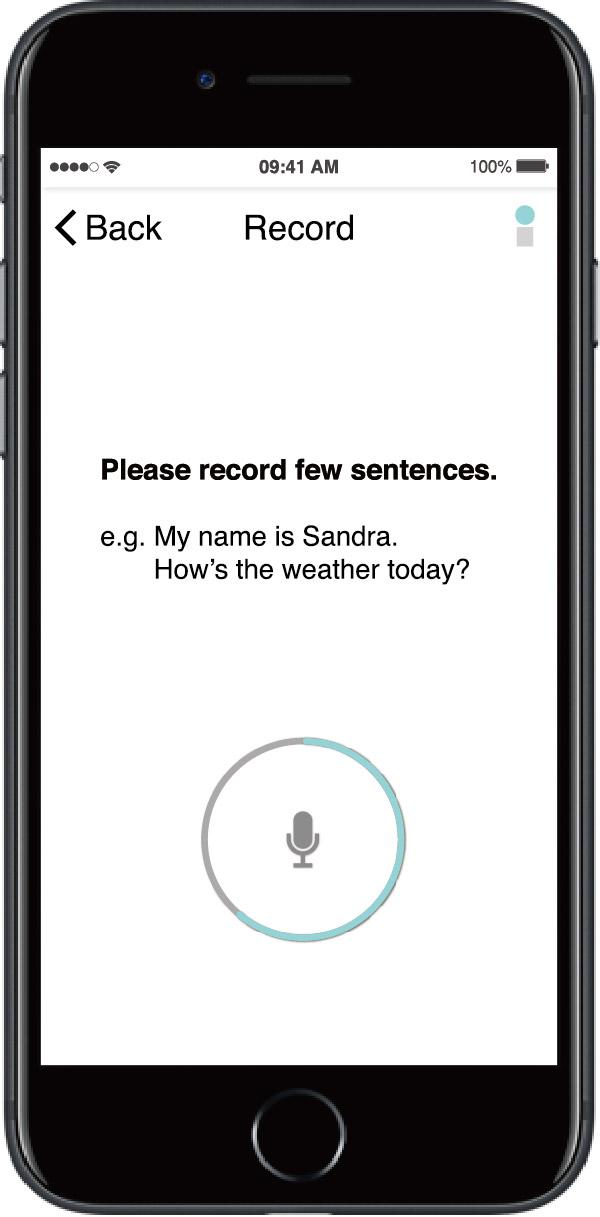 Speech recognition.