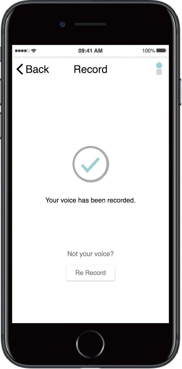 Voice recorded.