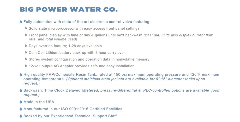 ph water system