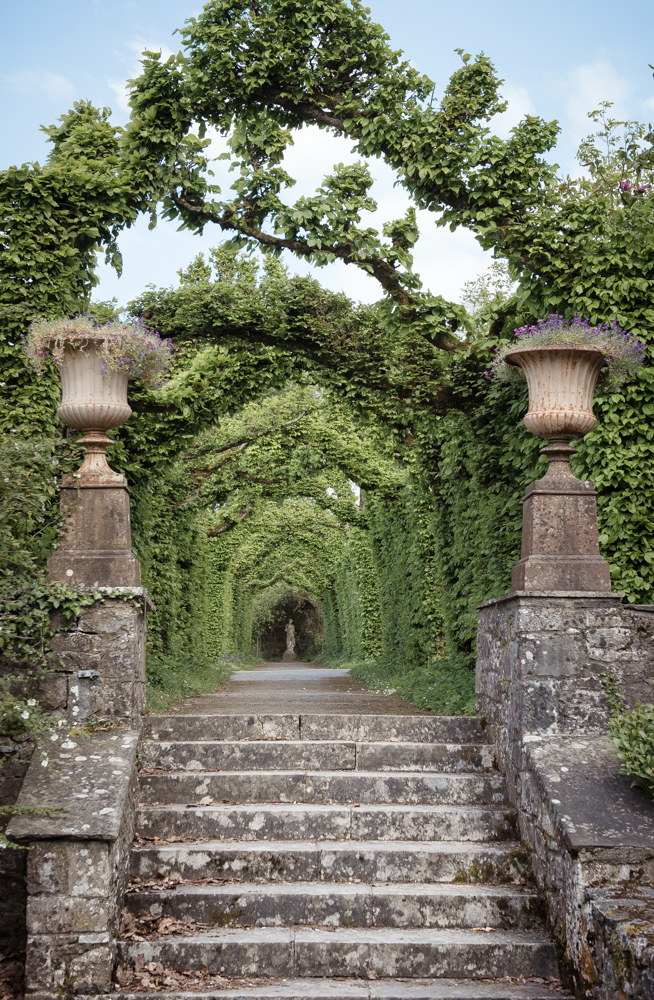 The Birr Castle estate has beautiful formal gardens.