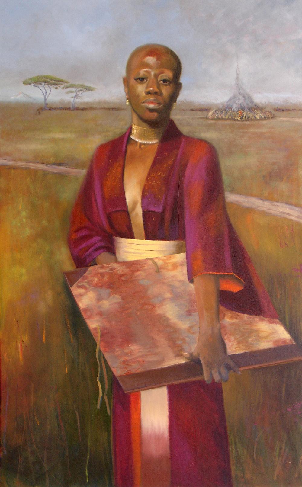 """Great Sacrifices"", 2008, 48x30"", Oil"