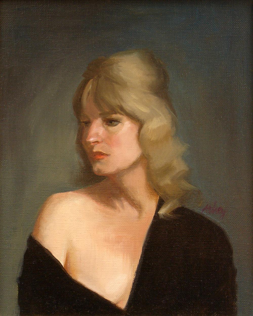 """""""Helena"""", 2004, 12x9"""", Oil on Linen"""