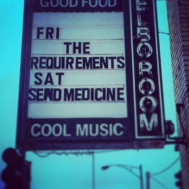 Just a friendly reminder on my walk to work that our friends in @requirementsband are killing it and the EP release show on Friday is gonna be fuckin wild. See you there!