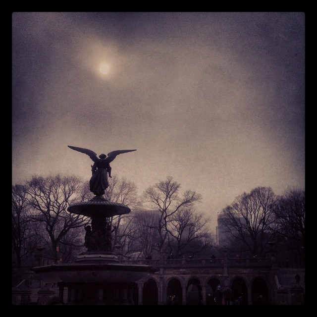 """""""Bethesda Terrace Fountain"""" by andrewdentremont is licensed under CC 2.0"""