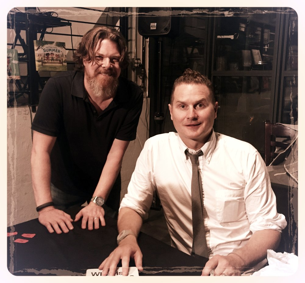"""Meeting Rob Bell at a talk about his new book, """"What is the Bible?"""""""