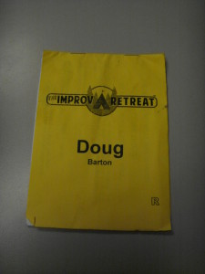 Improv Retreat Booklet