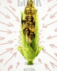 LOOK AT US - corn poster