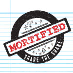 Mortified - Circle Logo