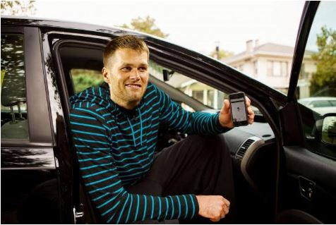 Tom Brady Uber
