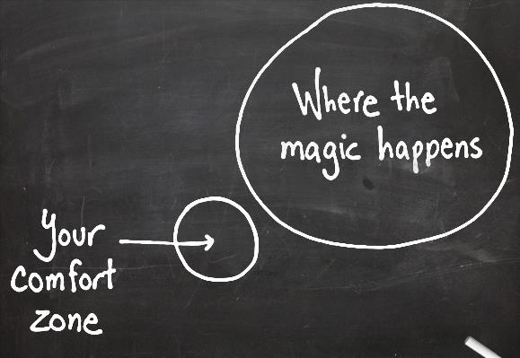 comfort zone graphic