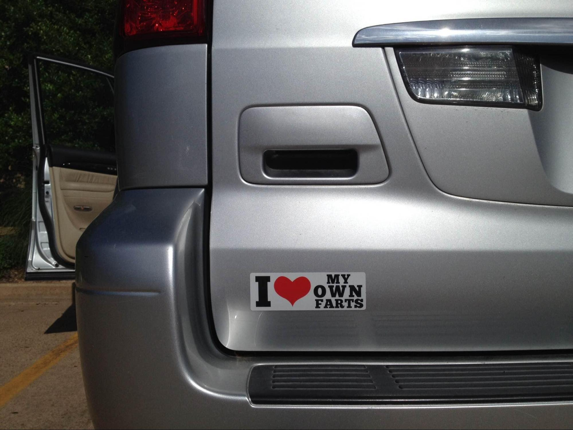 A Study In Pranking Trickery And Other Shenanigans Magnetic - Magnetic car decals