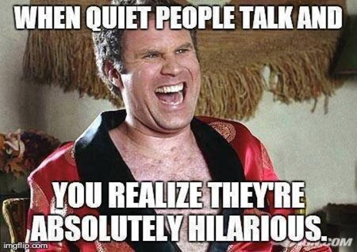 quiet people