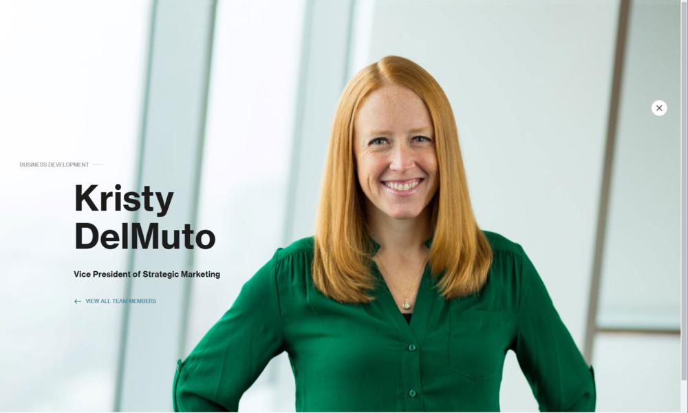 Kristy DelMuto, Vice President of Marketing at LLR Partner