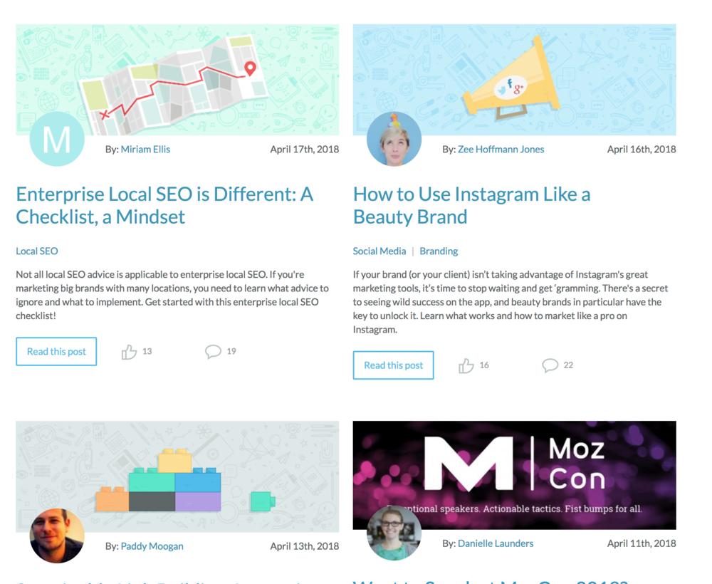 Moz Blog -