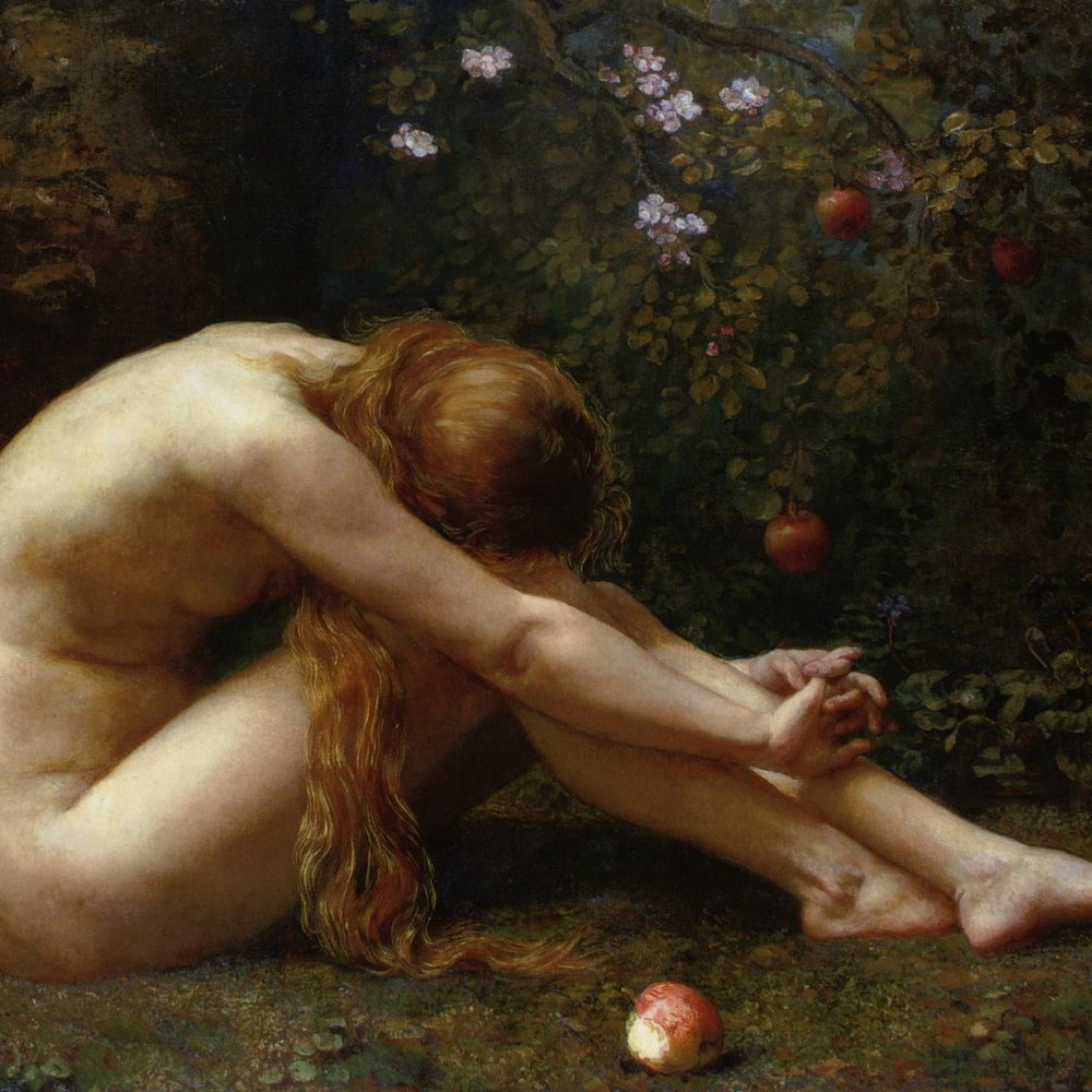 Overcome, Eve reflects upon her  lapse