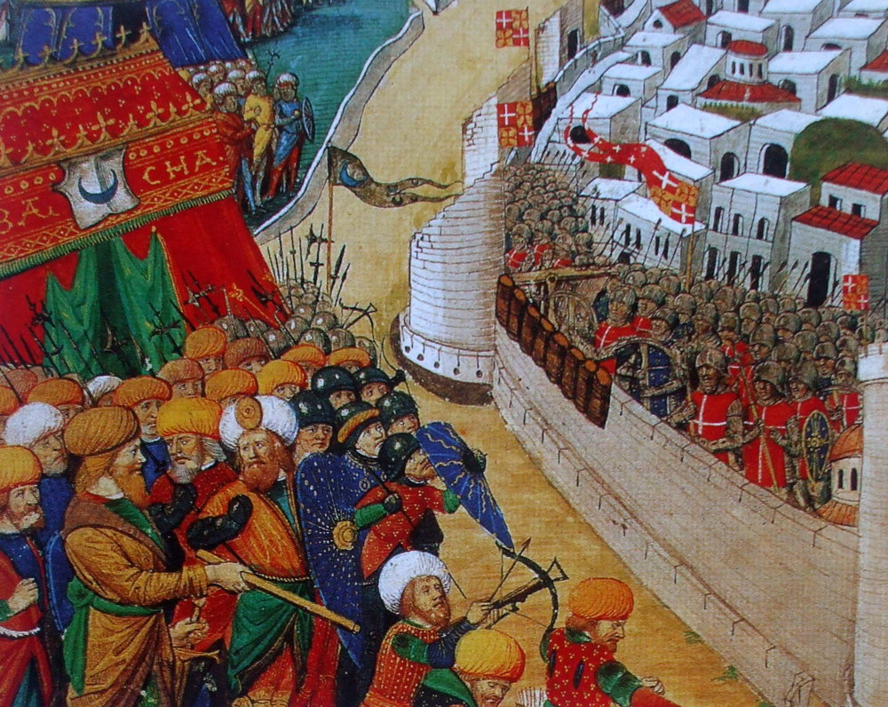 All Rhodes lead to war: Ottoman forces formed on the Hospittable island for the second time in a hundred years
