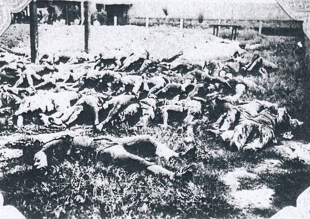 Losing Hopei: the Japanese victims at Tungchow.
