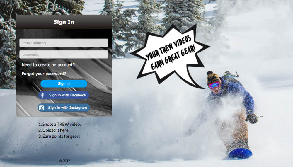 Landing - Invite your content creators to upload their media and stories straight to your branded web/mobile page.