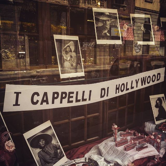 We are back with great news.. stay tunned!! #cappellineri #italy #torino #mobilestudios #travel #art #hollywood #hats #black #trend #design