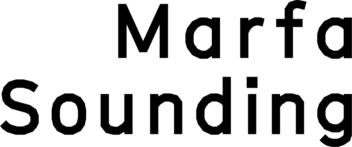 Marfa Sounding | Logo