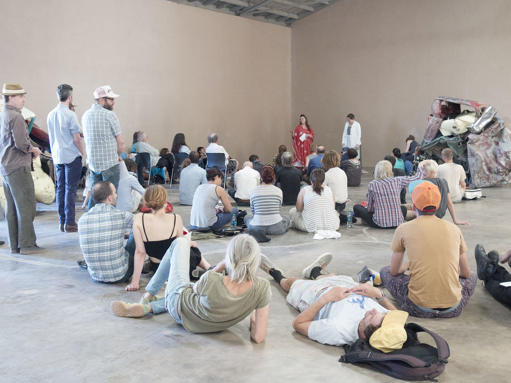 Introduction to Naldjorlak, photo by Sarah Vasquez, 2016.