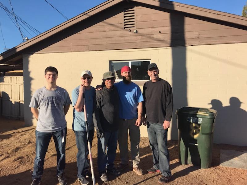 a few of the crew. L-R Nicholas, Brett, Marco, Bill, Tim