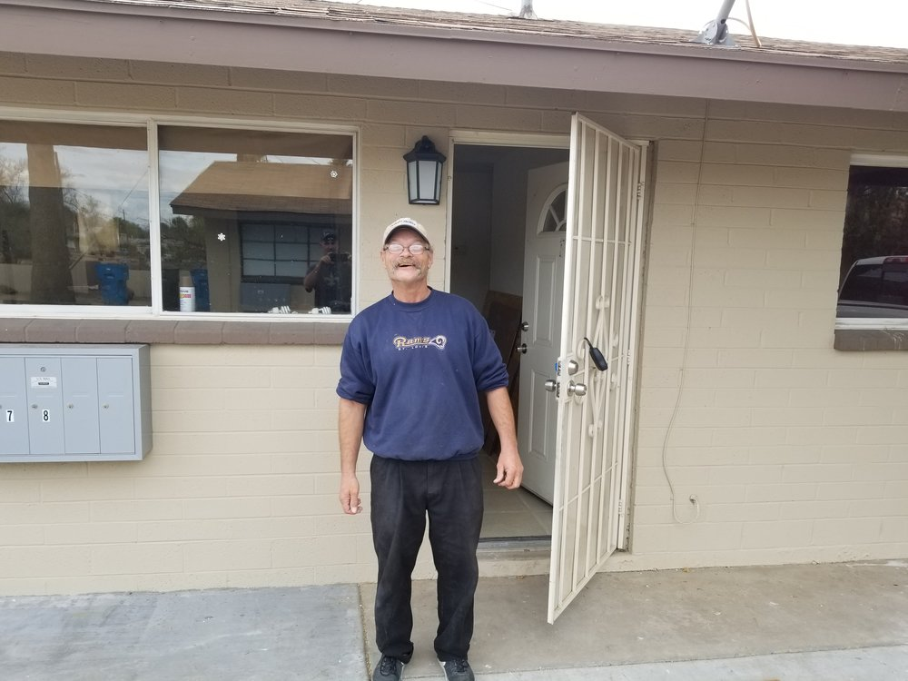 Welcome John! our first tenant