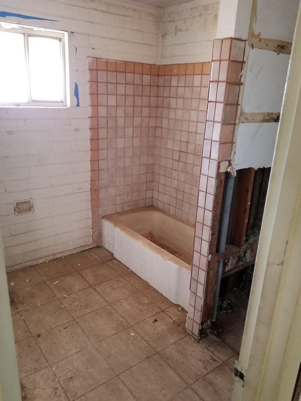 Demo bathroom