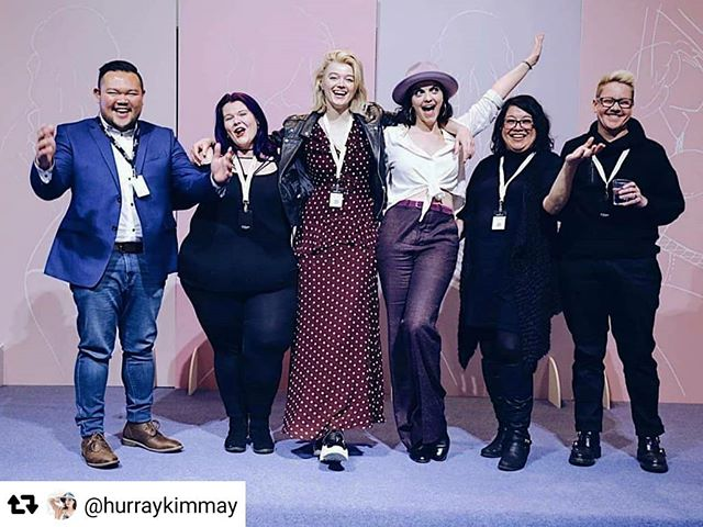 #Repost @hurraykimmay with @repostsaveapp ・・・ Huge Hurray for these amazing humans, and those who offered quotes so more voices could be included, and those who showed up to yesterday's Inclusiveness and Intimate Apparel panel I hosted at @curvexpo. The feedback has been so powerful so far 😭 and we're just getting started. Continue the conversation and PLEASE submit inclusive brands and stores to my Big List of Inclusive Companies at Hurraykimmay.com/curve 💙 I'm so honored to lead discussions like this and use my privilege, power, and heart to help ALL people say Hurray inside, outside, and underneath. I sat in a bath last night filled with gratitude that we had the space to talk about this and courage to help others take a step toward creating a more inclusive world. Big thanks to @parfaitofficial and Curve as well as the planelists! Hurray!  #parfaitpartner #curveexpo #curvepartner #inclusionmatters #inclusivity #transisbeautiful #nonbinaryfashion #loveistheway #bethechange #plussizefashion #inclusive