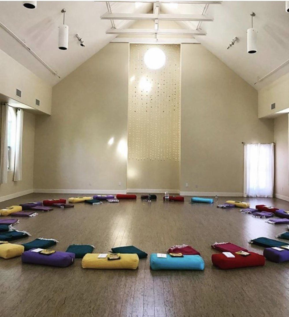 "Group Classes. (Where I Teach) - When we gather together and practice Yoga, there is a magic that occurs … a sense of community, oneness.Hop over to ""Teaching Schedule"" to join me for an in-person class."