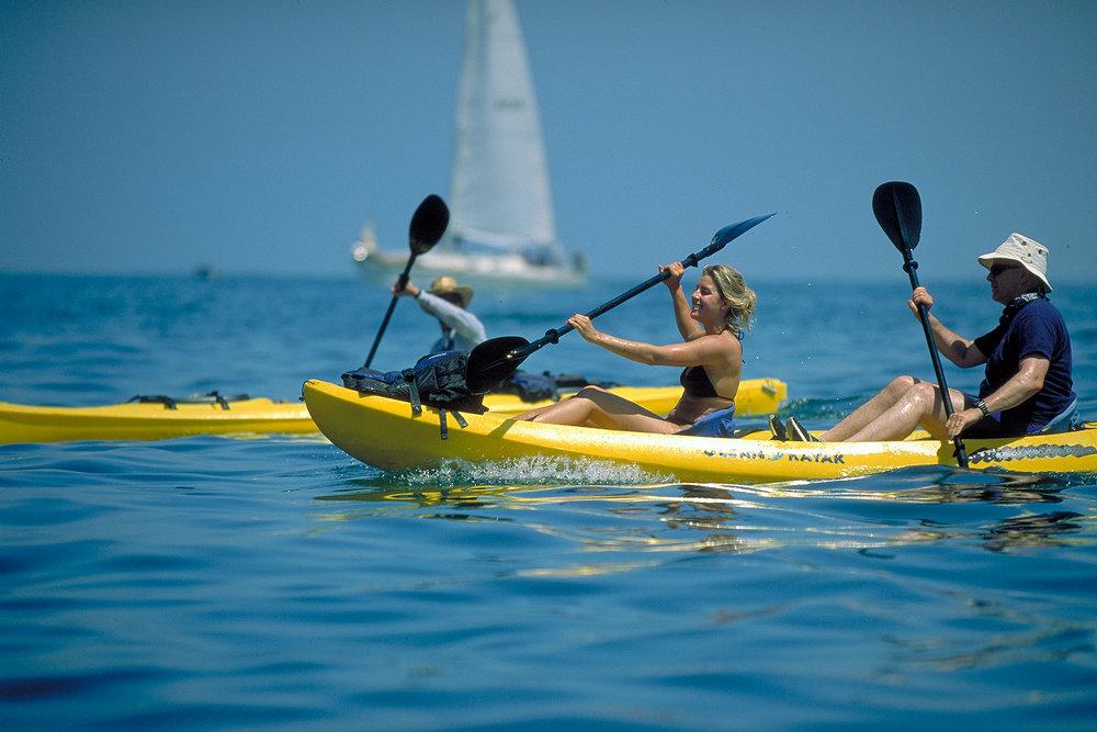 Kayaking in King Harbor |  Redondo Beach,CA
